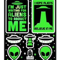 ALIEN STICKERS - PREORDER