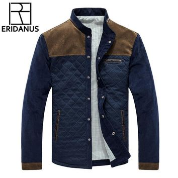 Trendy 2017 Autumn Winter Brand Men Jackets Coats Business Casual Corduroy Jacket Jaquetas Slim Fit Male Jacket Hommes Coats 3XL X370 AT_94_13