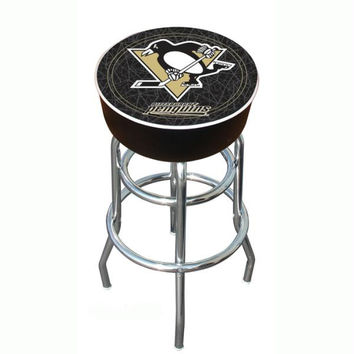 NHL Pittsburgh Penguins Padded Bar Stool