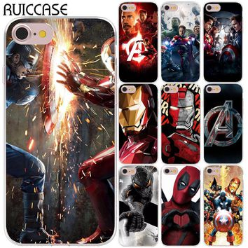 Deadpool Dead pool Taco Spider Iron Man Joker  Captain America Soft Silicone Case For Coque iPhone X XS Max XR 5 5S SE 6 6S 7 8 Plus Cover AT_70_6