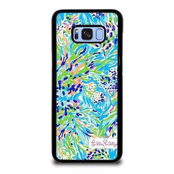 LILLY PULITZER SEA SOIREE Samsung Galaxy S8 Plus Case Cover