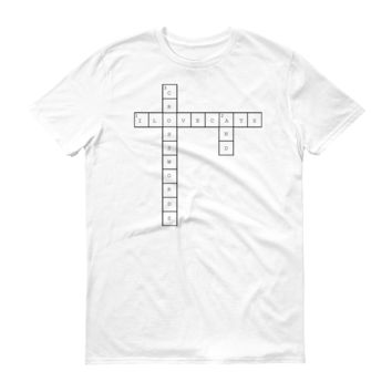 I Love Cats & Crosswords T-Shirt