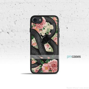 Snake in Flowers Phone Case Cover for Apple iPhone iPod Samsung Galaxy S & Note