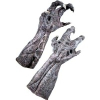 Aliens Vs Predator Requiem And Deluxe Alien Hands, Gray, One Size