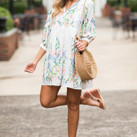 Gorgeous Garden Dress, Off White