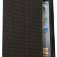 RevJams FlipBack Smart Case/Cover with Stand for iPhone 4/4S-Black/Black
