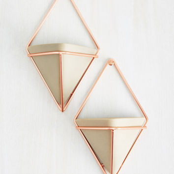 Exemplary Contemporary Vase Set in Rose Gold