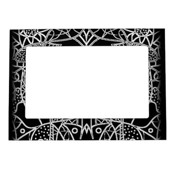 B&W PHOTO FRAME MAGNET