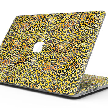 Watercolor Leopard Pattern - MacBook Pro with Retina Display Full-Coverage Skin Kit