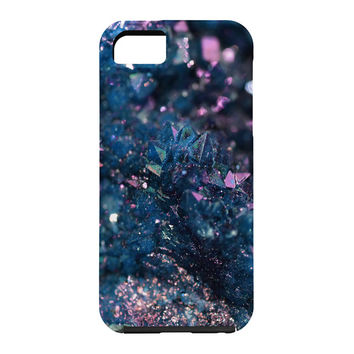 Lisa Argyropoulos Geode Abstract Teal Cell Phone Case