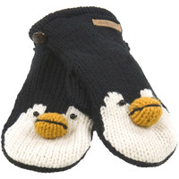 Peppy The Penguin Kids Knit Mittens