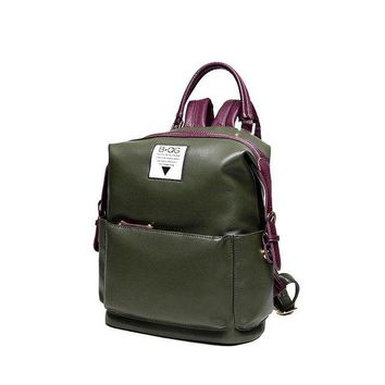 University College Backpack 2018 new men and women wild  personality high-capacity Korean casual   minimalist style AT_63_4