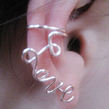 Lovely Ear Cuff by Artistieke on Etsy
