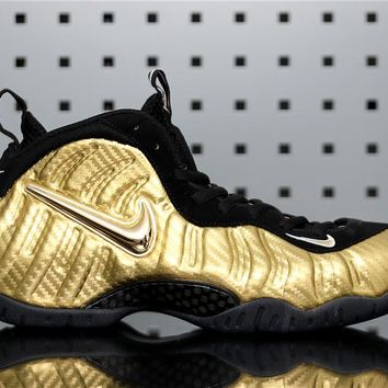 "Nike Air Foamposite PRO 624041-701 ""Metallic Gold"""