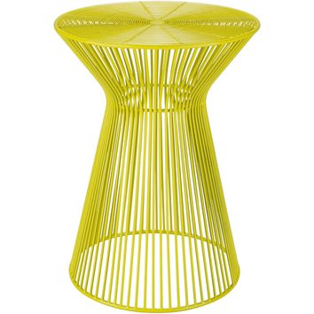 Fife Accent Table | Yellow