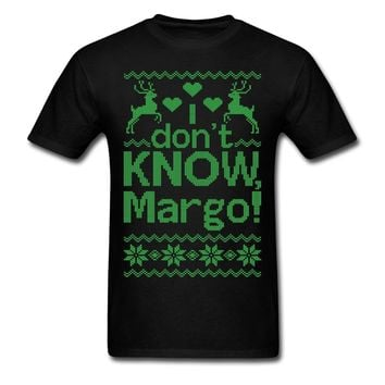 WHY IS THE CARPET ALL WET TODD I DONT KNOW, MARGO! GREN PRINT TSHIRT