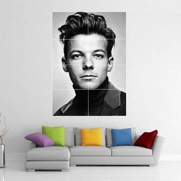 Louis Tomlinson One Direction 1D Giant Wall Poster