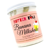 BANANA MILKSHAKE Whipped Body Soap Fluff