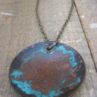 Bohemian necklace by CopperTreeArt on Etsy
