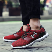 2016 High Quality Cheap Men Shoes Casual Layer mesh Fashion casual shoes for adults Trainers Breathable Light Soft Flats Zapatos