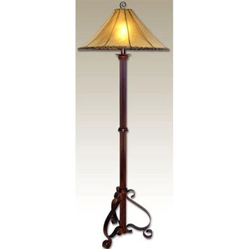 Forged Iron Floor Lamp