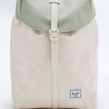 Herschel Supply co. Post Backpack in Green and Cream - Urban Outfitters