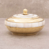 Mother of Pearl Offering Bowl