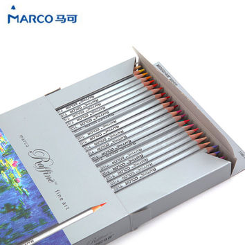 Marco Raffine Fine Art colored pencils 72 Colors Drawing Sketches Mitsubishi Colour Pencil School Supplies Secret Garde Pencil
