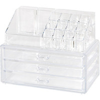 Clear 19 Compartment Cosmetic Organizer | Ulta Beauty