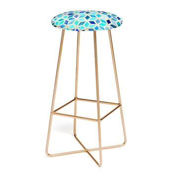 MAGIC BLUE Bar Stool by Elisabeth Fredriksson