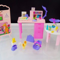 1995 Mattel Barbie Baby Care Center So Much To Do Hospital Playset Vintage