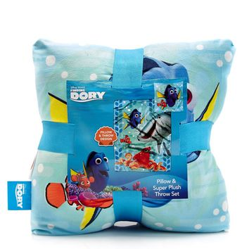 Finding Dory Throw Blanket Pillow 2-Piece Set 612179819