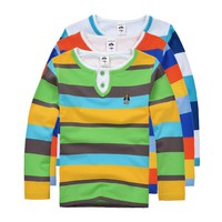Top quality boys girls clothes for kids toddler big boy clothing children long sleeve