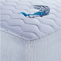 Queen size 100-Percent Cotton Waterproof Mattress Pad - Hypoallergenic