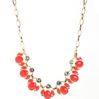 Coral Finishing Touch Necklace Set