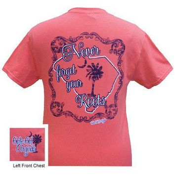 SALE Girlie Girl Originals South Carolina Never Forget Your Roots T-Shirt