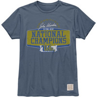 Original Retro Brand UCLA Bruins Vintage John Wooden 10 Time College Basketball National Champion T-Shirt