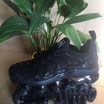 Nike Air Vapormax Plus Black Vapor Max 2018 924453-004  Basketball Sneaker