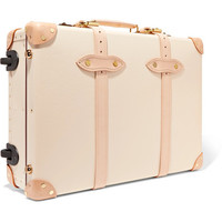 Globe-Trotter - Safari 20'' leather-trimmed fiberboard travel trolley