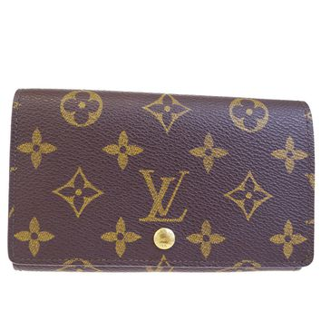 Auth LOUIS VUITTON Tresor Bifold Wallet Purse Monogram Leather BN M61730 02BC354