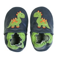 Tommy Tickle Dinosaur Crib Shoes - Baby