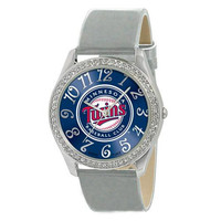 Minnesota Twins MLB Ladies Glitz Series Watch