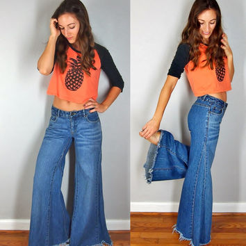 Best Hippie Bell Bottom Pants Products on Wanelo