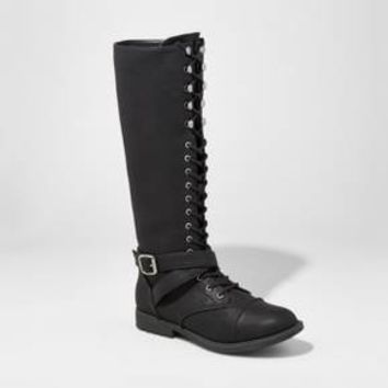 Women's Magda Lace-Up Tall Boots - Mossimo Supply Co.™