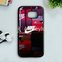 Nike Colorful Embosement Samsung Galaxy S7 Edge Case | armeyla.com