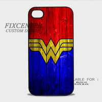 Wonder Woman Logo case for iPhone 4 4S 5 5S 5C 6 6Plus iPod 4 5 Samsung Galaxy Note 3 Note 4 Galaxy S3 S4 S5 HTC One M7 One X BlackBerry Z10 with Black White color Hard Plastic Rubber 3D Print image materials