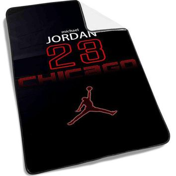 michael jordan number widescreen Blanket