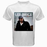 lee brice white Tshirt size S,M, L, XL, XXL, XXXL, 4XL and 5XL