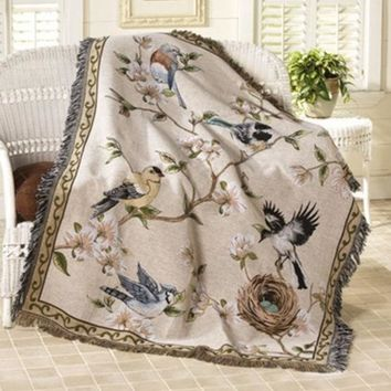 DCCKJG2 Tapestry Wall Hanging Window Curtain 100% cotton high quality sofa table cloth, fwoolen blanket, casualdust cover,150*125cm