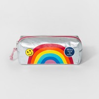 Kids' Rainbow Pencil Case - Cat & Jack™ Silver